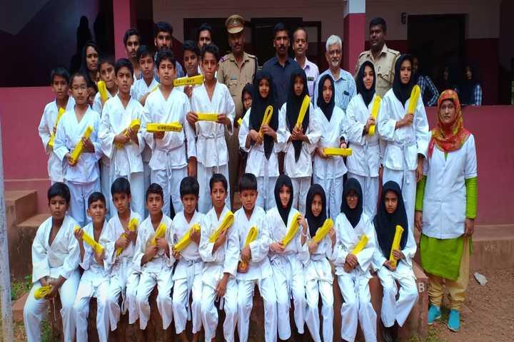 Vidyanagar public school - karate
