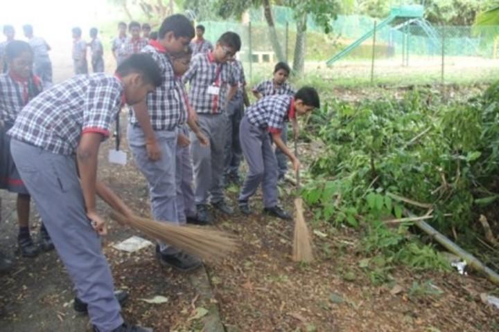 Kendriya vidyalaya No. 2- Cleanliness Event