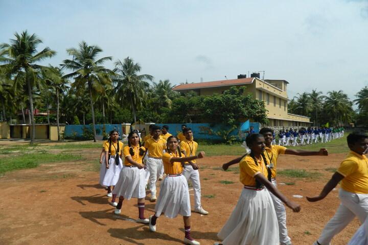 Vidyasadan Central School-March Past