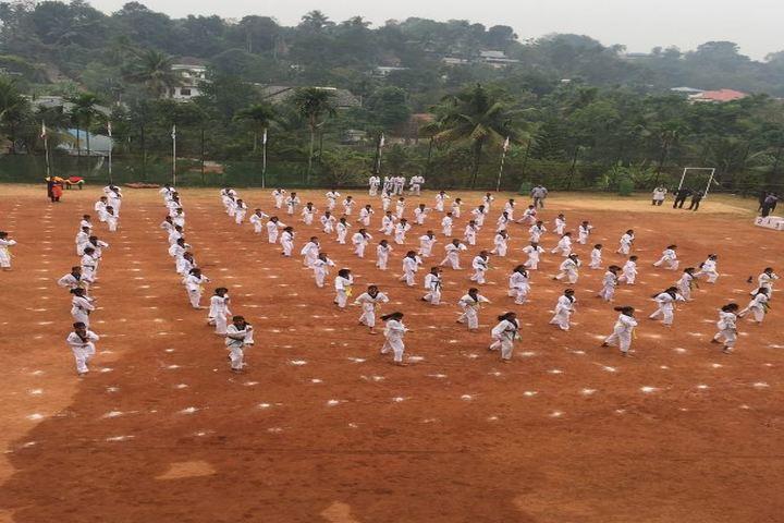 Vidyodaya school-Karate