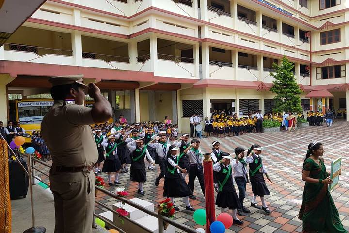 Vimal Jyothi Public School - march past