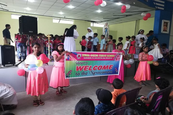 Vimal Jyothi Public School - welcome to new comers