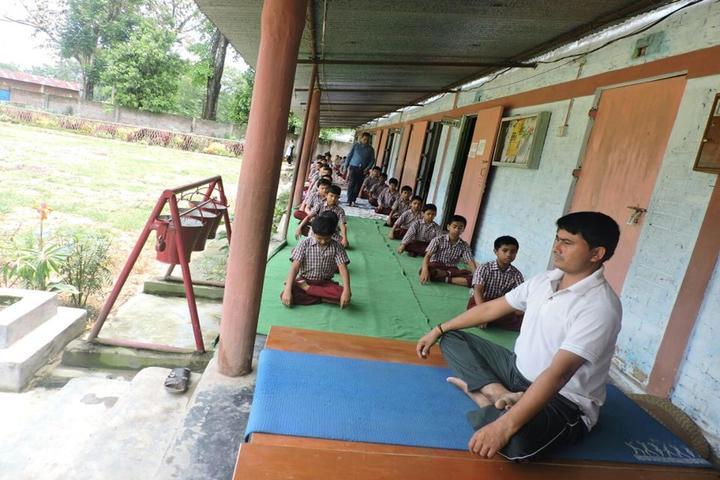 Swami Vivekananda Kendriya Vidyalaya- Meditation