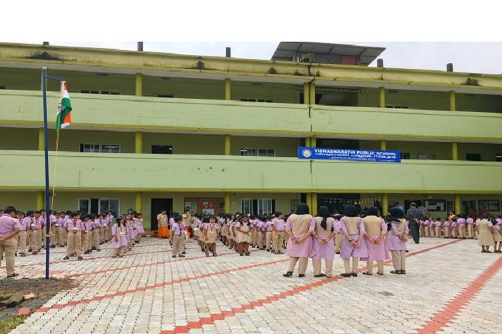 Viswabharathi Public School-Flag Hosting