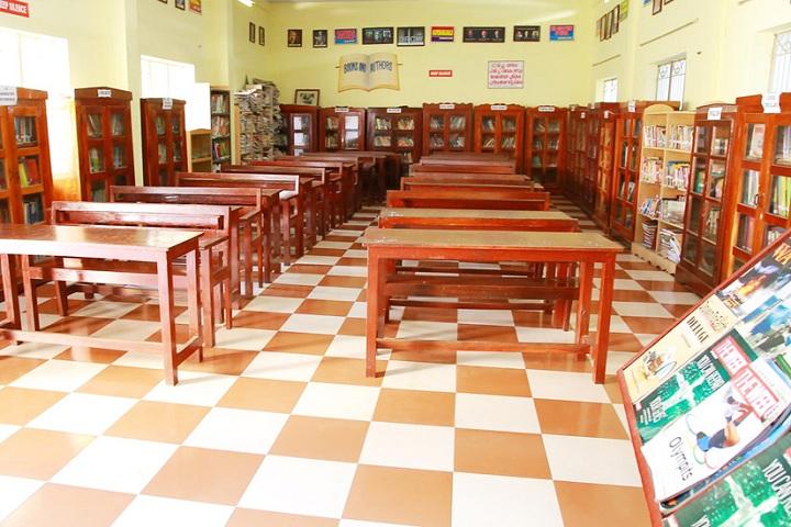 Viswabharathy Public School-Library