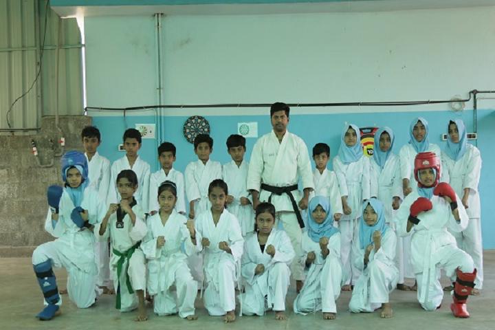 Wadi Rehma English School-Karate Class