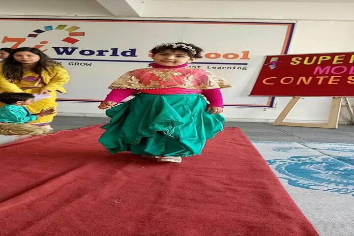 7I World School-Fancy Dress Competition
