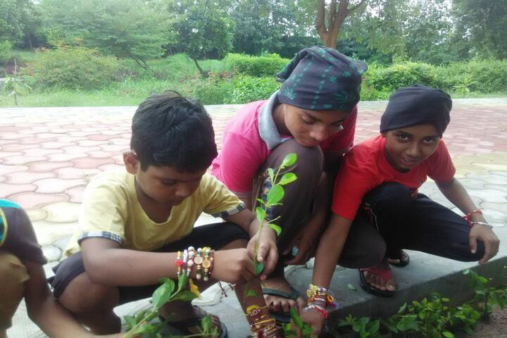 Aakar Public School-Tree Plantation