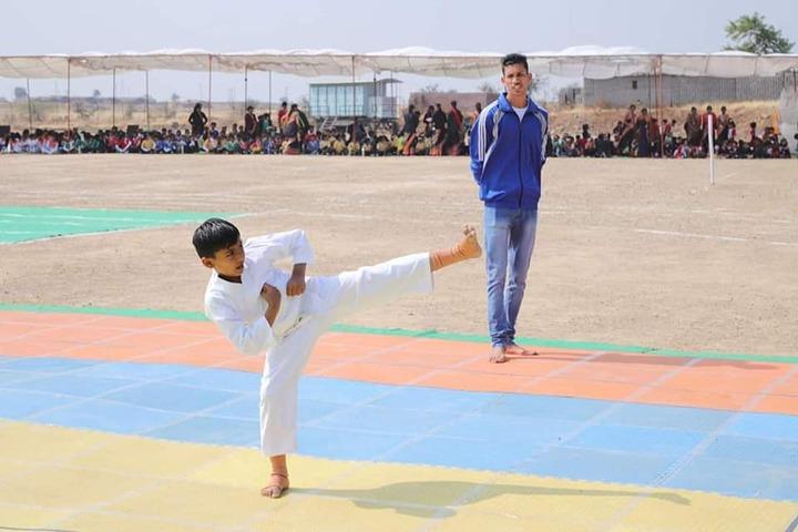 Abhyuday Vidyasthali-Karate Activity