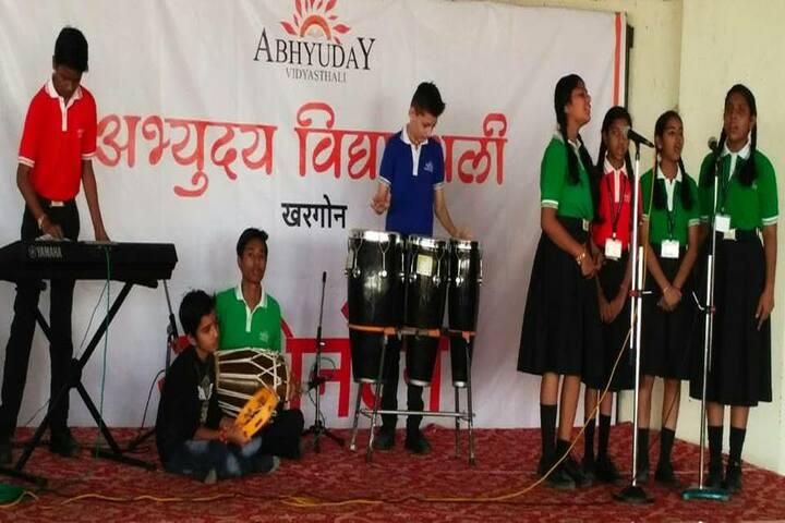 Abhyuday Vidyasthali-Music Activity