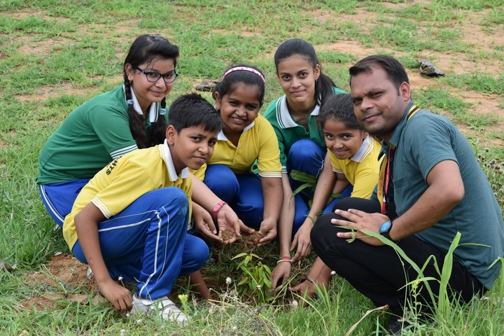 Academic Heights Public School-Tree Plantation