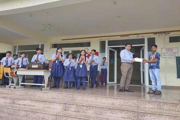 Acharya Vidyasagar Public School-Annual Prize Distribution