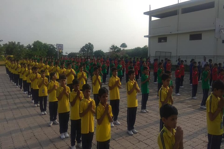 Acharya Vidyasagar Public School-Morning Assembly