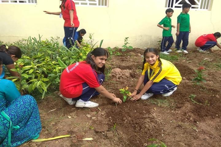 Acharya Vidyasagar Public School-Tree Plantation