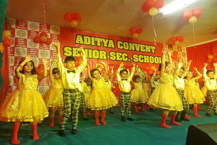 Aditya Convent School-Dancing Activity