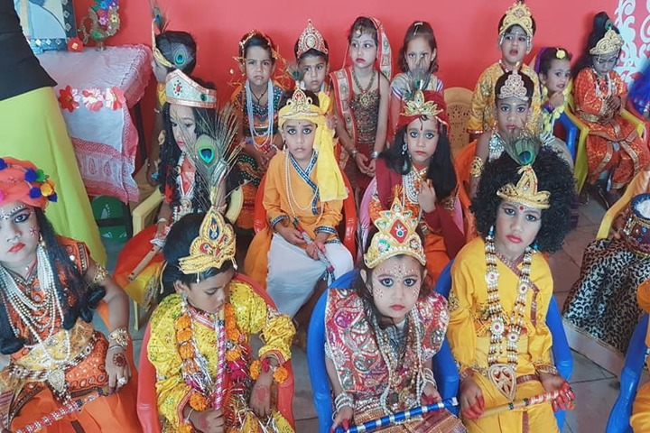 Aditya Convent School-Krishnastami Celebrations