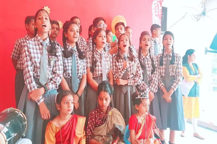 Aditya Convent School-Music Activity