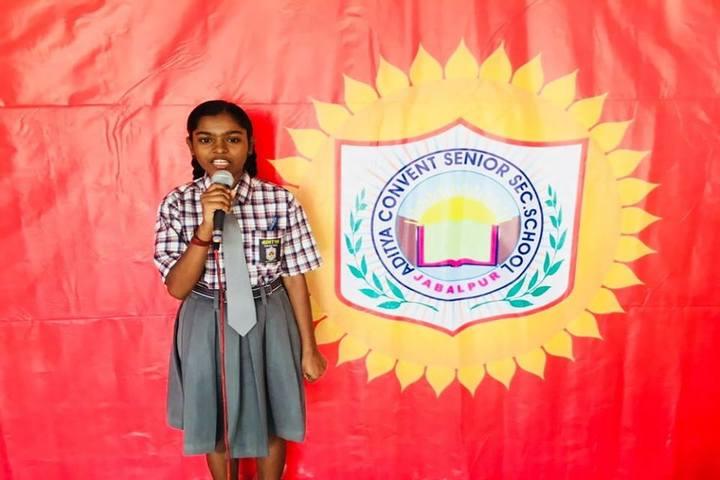 Aditya Convent School-Recitation