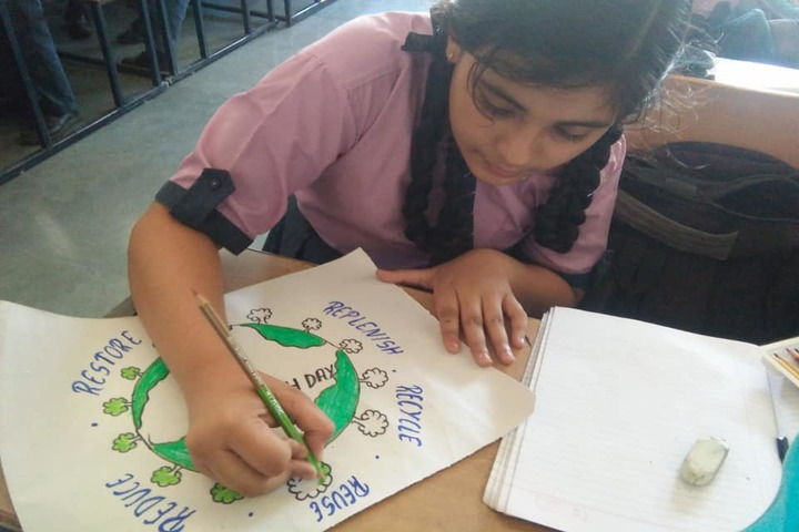 Ajay Satya Prakash Public School-Drawing Competition