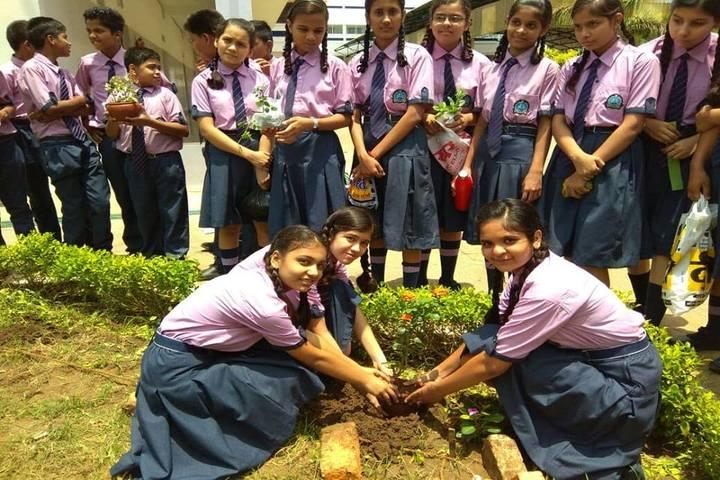 Ajay Satya Prakash Public School-Tree Plantation
