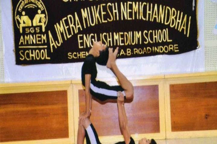 Ajmera Mukesh Nemichand Bhai English Medium School-Yoga