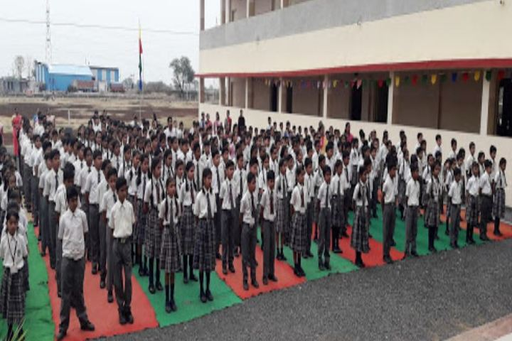 Akshat International School-Assembly Ground