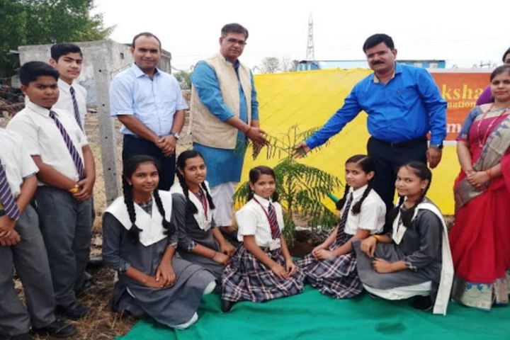 Akshat International School-Planting
