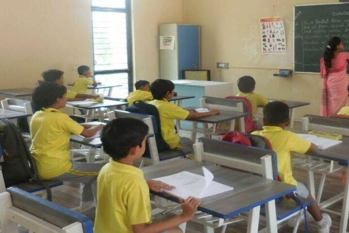 Alok International School-Classroom
