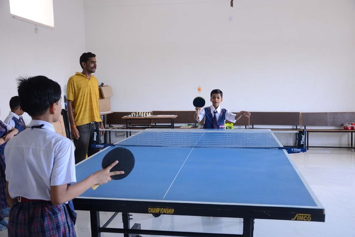 Alpha International School-Indoor Games