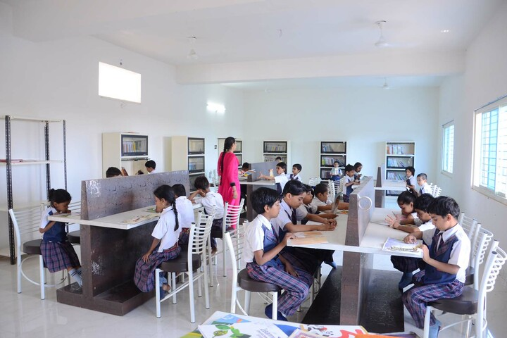 Alpha International School-Library