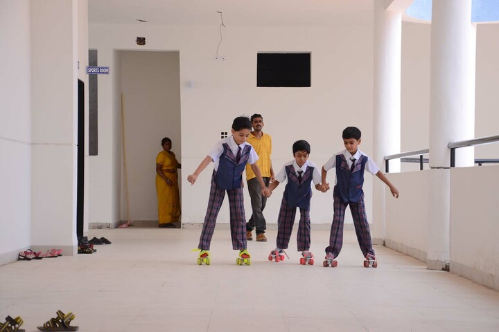 Alpha International School-Skating Activity