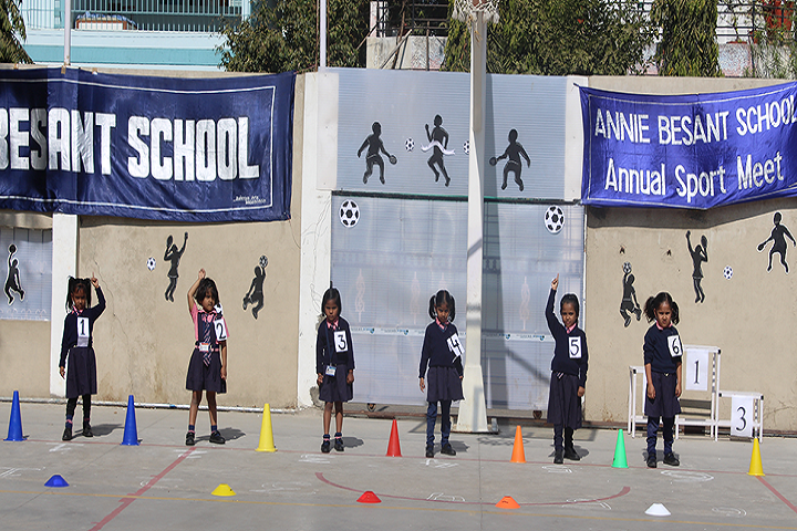 Annie Besant School-Annual Sports Meet