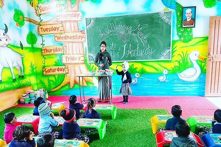 Anshul Vidhya Mandir-Classroom