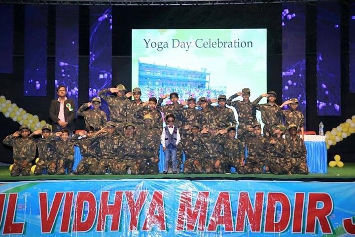 Anshul Vidhya Mandir-Yoga Day