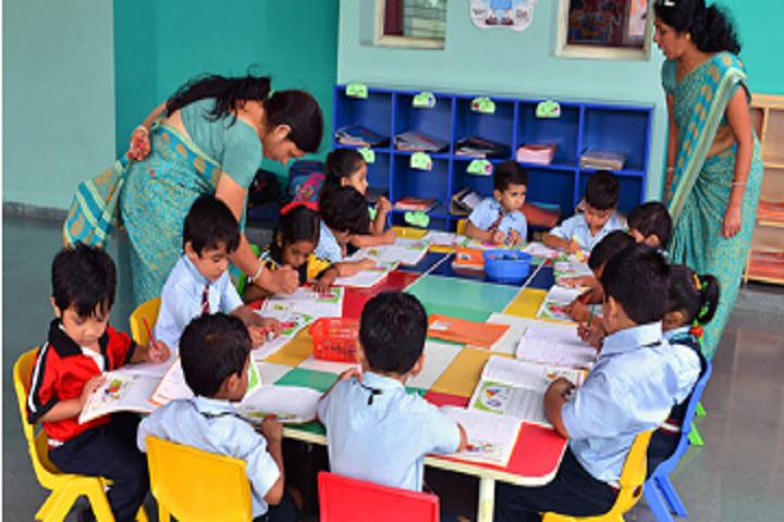 Anusuiya School-Group Activity