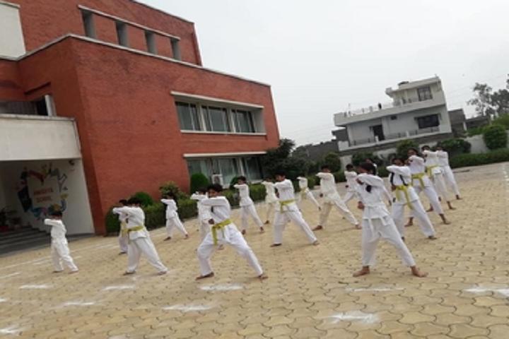 Anusuiya School-Karate