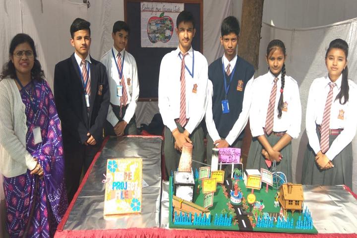 Army Public School Gwalior-Science Exhibition