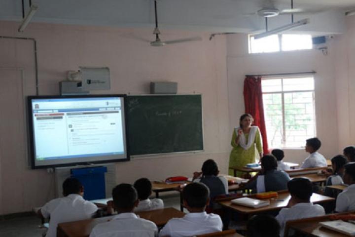Army Public School Shivaji Nagar-Smart Classroom