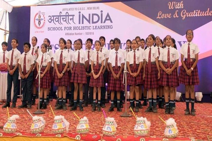 Arwachin India School-Music Activity