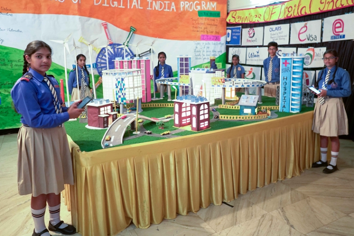 Ashoka Hall Junior High School-Science Exhibition