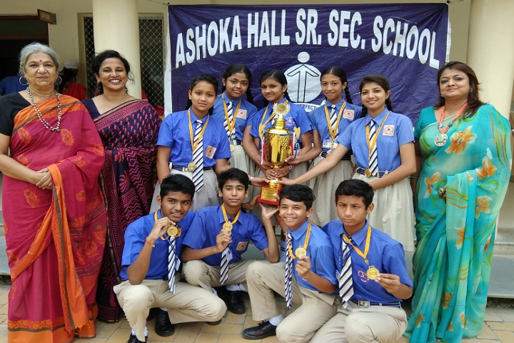 Ashoka Hall Junior High School-Felicitation