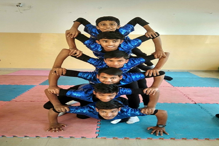 Ashoka Hall Junior High School-Yoga Activity