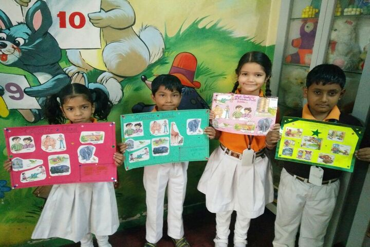 B P Children Public School-Chart Making Activity