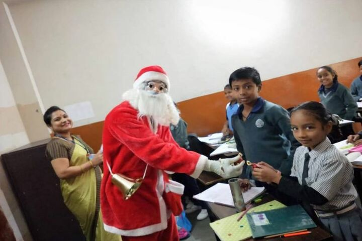 B P Children Public School-Christmas Celebrations