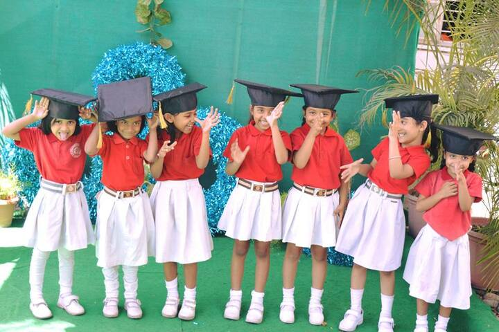 B P Children Public School-Graduation Day