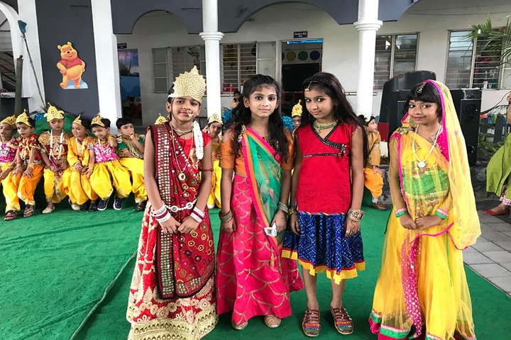 B P Children Public School-Krishnastami Celebrations