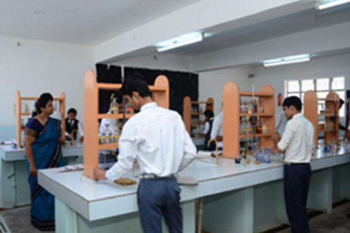 Bal Bharti School-Chemistry Lab