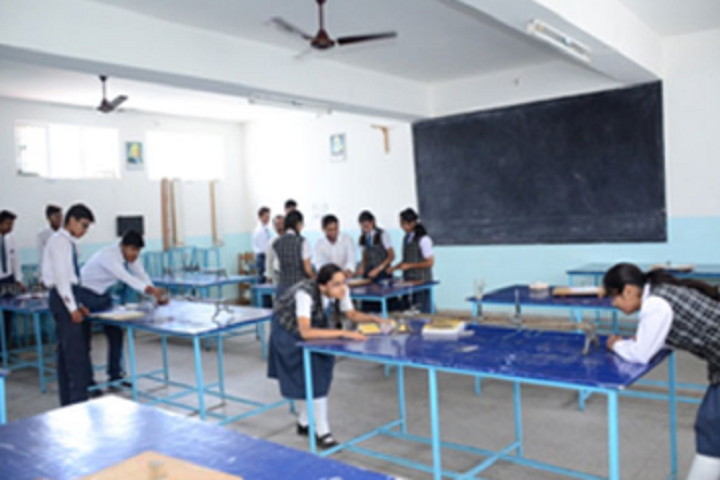 Bal Bharti School-Physics Lab
