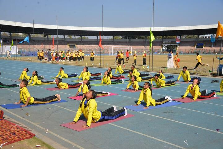 Bal Bhawan School-Yoga