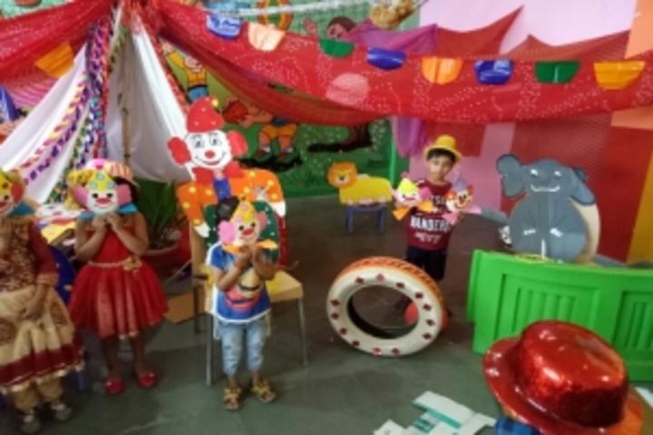 Behs Neev Academy-Clown Day Activity